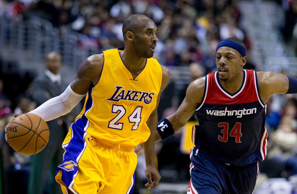 Kobe Bryant, Los Angeles Lakers (li.)