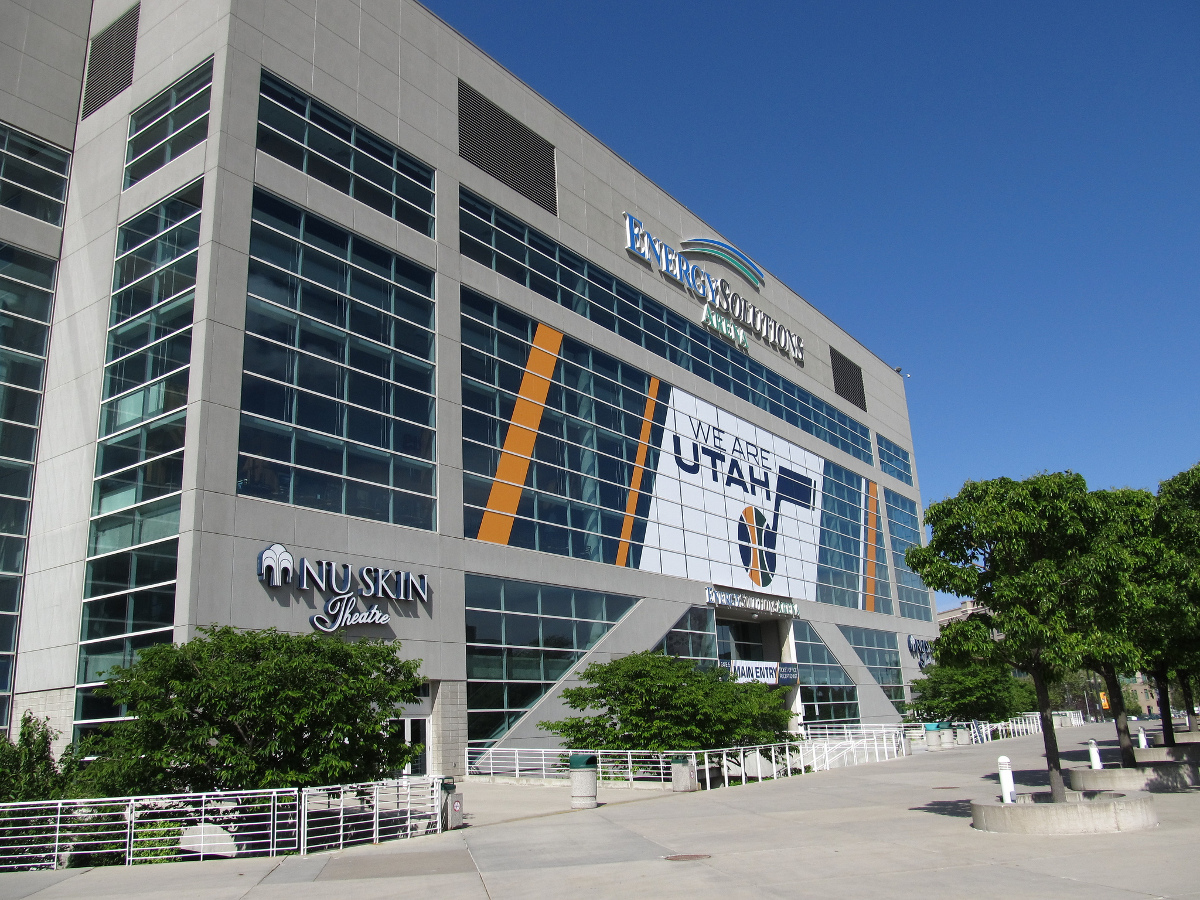 Utah Jazz NBA Arena