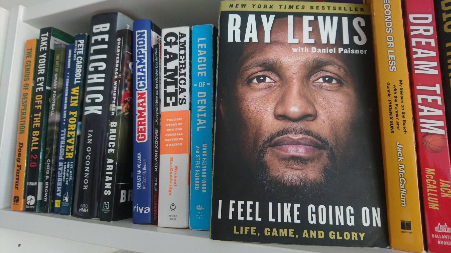 Ray Lewis, Football-Buch
